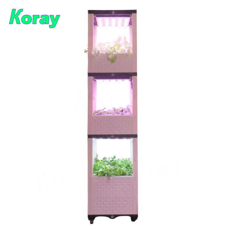 4525KD Indoor shelf fruit and vegetable planting pot soil cultivation vanilla seasoning growth system
