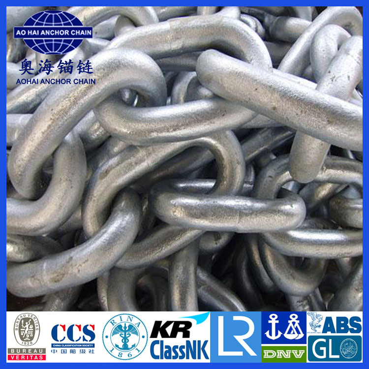 Galvanized Studless Link Anchor Chain