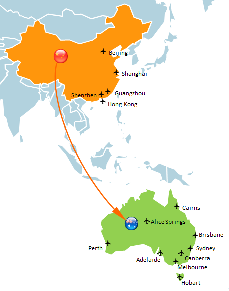 tracking the shipping time from China to Australia