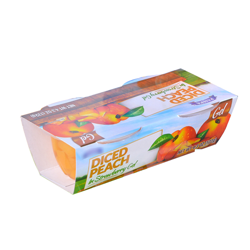 4oz  Yellow Peach
