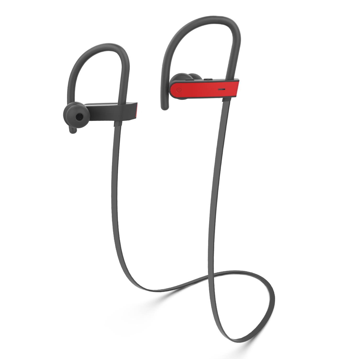 Kinlan IPX7 Waterproof Bluetooth Headphone Wireless Headset Stereo Earphone BE1015 red